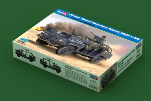HobbyBoss 82450 1:35th Scale Land Rover Discovery RSOV avec MG Ranger Special Ops