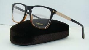 a629d156777bd TOM FORD TF 5351 050 Black Gradient   Brown   Gold Brille Frames ...