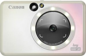 Canon - Ivy Cliq + 2 Instant Film Camera - Iridescent White