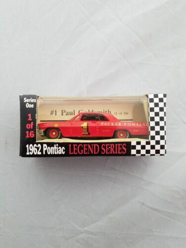 1992 Paul Goldsmith #1 Packer Pontiac 1962 Pontiac RCCA 1//64 Lengends Series NIP