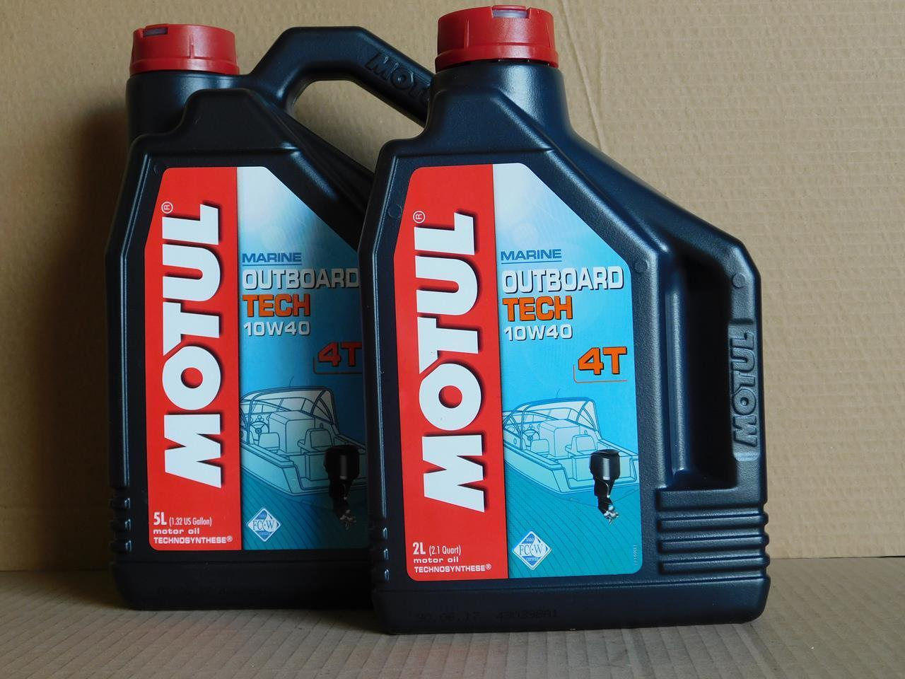 l Motul Outboard Tech 4T 10W-40 7 Ltr 4-Takt Außenbord Motorenöl
