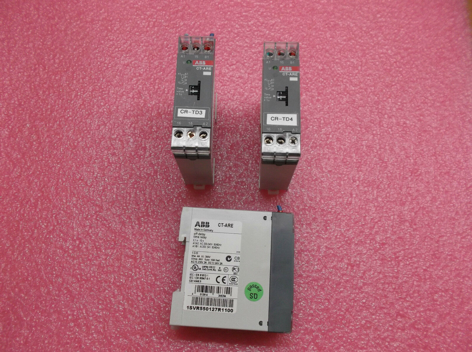 3 pcs ABB CT-ARE 1SVR550127R1100