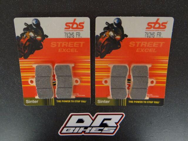 Triumph 675 Street Triple R 2009-2012 SBS street Sintered Front Brake Pads 782HS