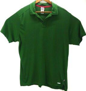 The-North-Face-Polo-Shirt-Mens-XL-Green-Vapor-Wick-Short-Sleeve