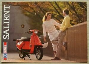 YAMAHA-SALIENT-49cc-MOPED-Sales-Brochure-c1983-LIT-3MC-0107705-83E