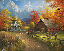 Country Blessings - 1000 Piece Puzzle - White Mountain Puzzles