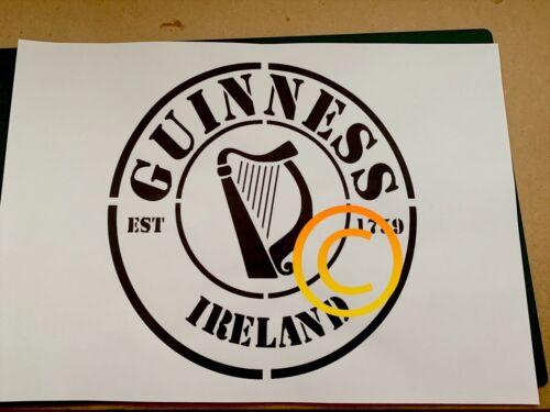 Guinness Stencil a4