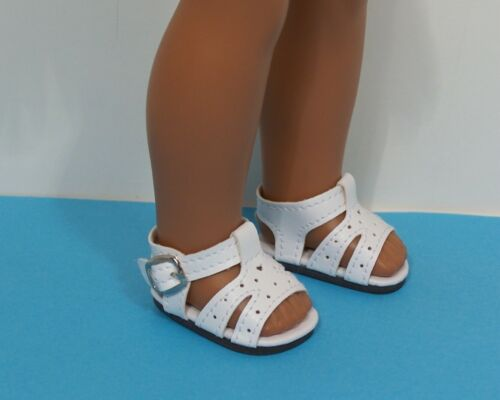 "4pr Cut-Out Sandals Doll Shoes For 14/"" American Girl Wellie Wisher Wishers Debs"