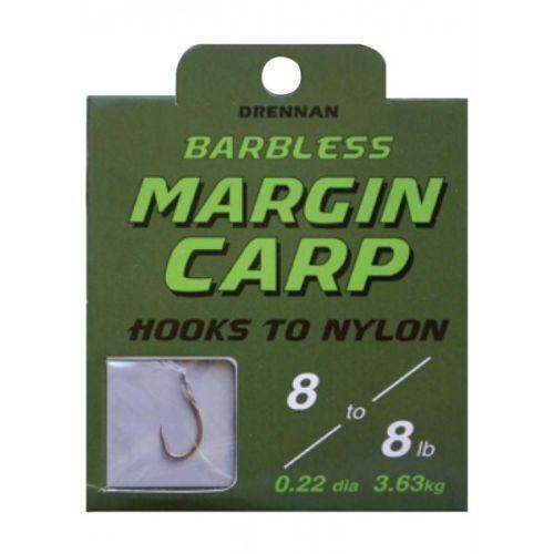 ALL SIZES Drennan Margin Carp Hooks to Nylon