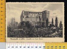 39941] CUNEO - MONTICELLO D'ALBA - CASTELLO DEI CONTI ROERO 1940