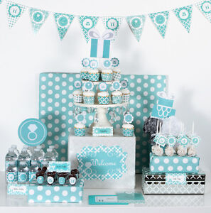 image is loading something blue bridal shower theme mod party decorations