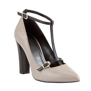 presenting detailed images new style COLLECTION by John Lewis Lucy Leather Mid Block Heel Court Shoes ...