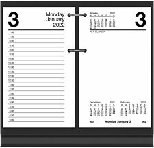 2022 Daily Desk Calendar Refill By At A Glance 3 12 X 6 Loose Leaf E71750