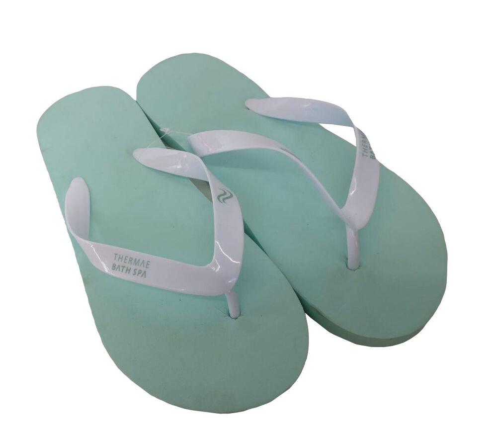 Débardeur Turquoise Confortable Flip-flop Piscine Plage Casual Sandales Chaussures Taille M