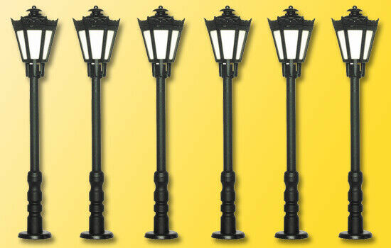 Viessmann 64706 Park Lanterns, LED Warm White 5+1, N