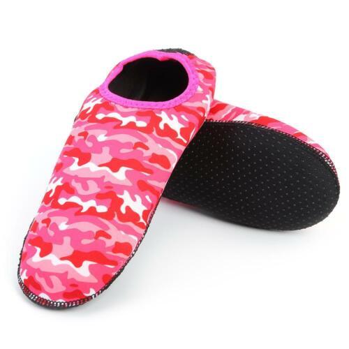 Men Women Skin Water Shoes Beach Pool Yoga Swimming Surf Slip On Diving Socks
