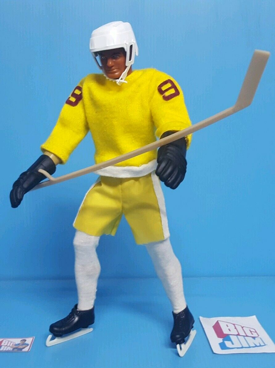 Big Jim,    hockey sur glace    Acción Joe, mattel