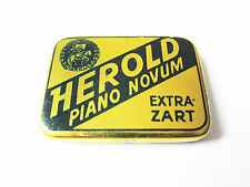 Grammophon NADELDOSE HEROLD PIANO NOVUM gramophone needle tin