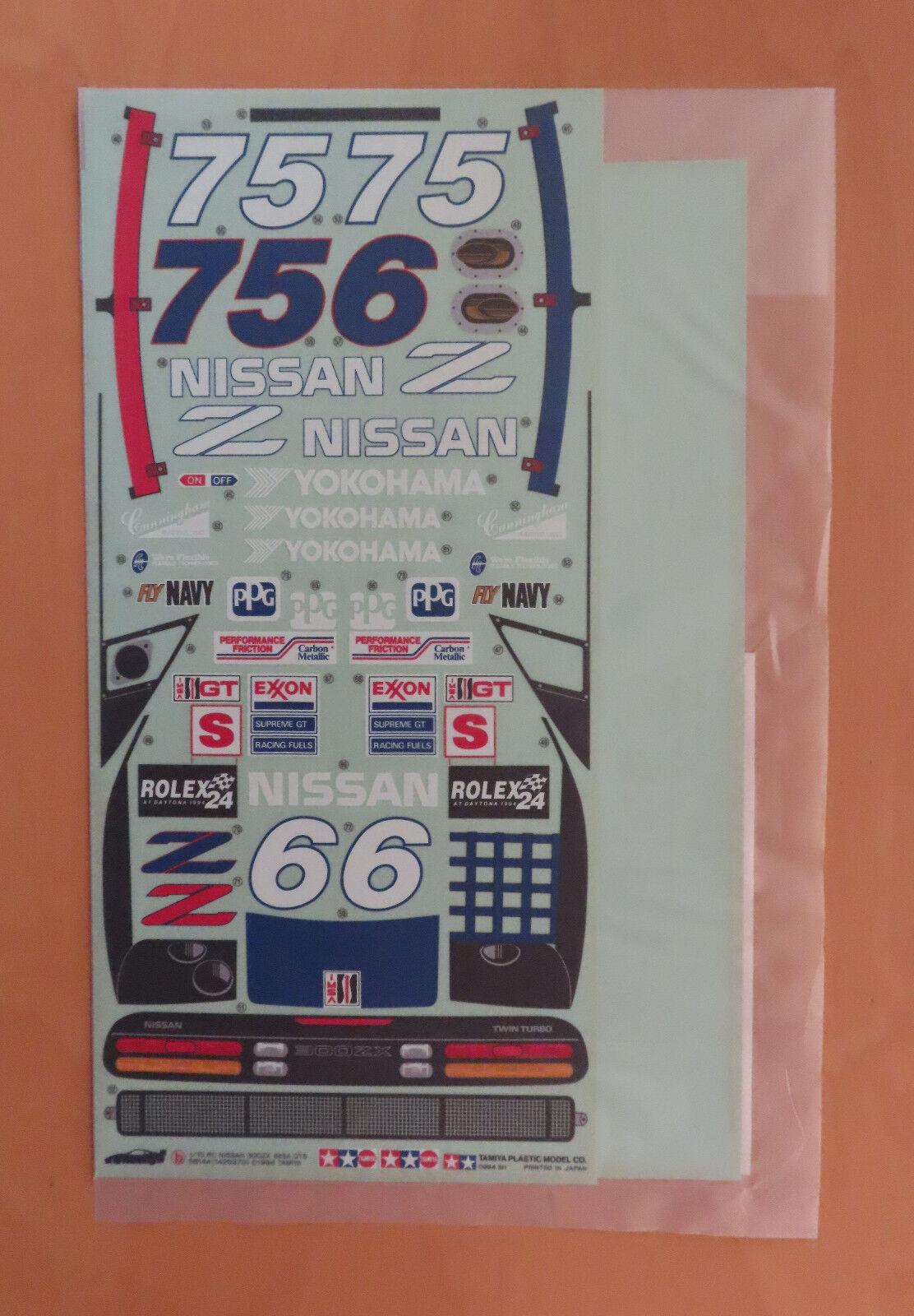 RC Tamiya Decal 58144 Nissan 300ZX GTS 1994 NEU NIB