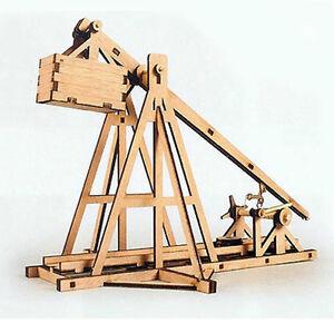 Details About Trebuchet Wooden Model Kit Youngmodeler