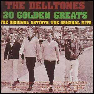 DELLTONES-20-GOLDEN-GREATS-AUSSIE-R-039-N-039-R-CD-THE-GREATEST-HITS-BEST-NEW