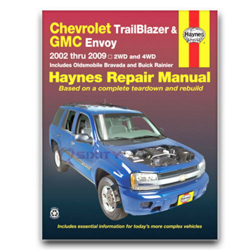 Shop Service Garage Book lc Haynes Repair Manual for 2002-2006 GMC Envoy XL
