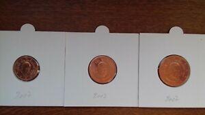 vatican 2007 pièces de 1 2 5 cents  II