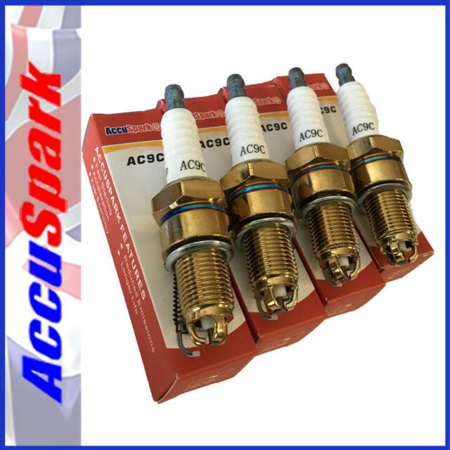 Ford Escort OHV AccuSpark AC9C Performance Spark Plugs x4