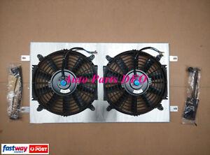 For-Holden-amp-Chevy-Shroud-Thermo-Fans-HQ-HJ-HX-HZ-253-amp-308-V8-Aluminum