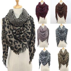 Women-Winter-Warm-Leopard-print-Long-Wrap-Shawl-Scarf-Scarves-Stole-Cape-Scarf-T