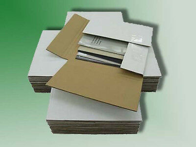 "100 - 45 RPM Record Album Mailer Boxes & 200 - 7.5"" x 7.5"" Filler Pads"