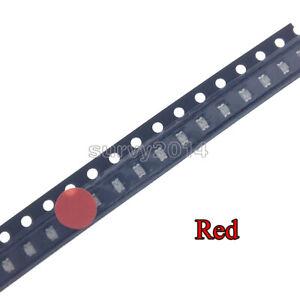 100Pcs NEW SMD SMT 0603 Series LED Super Ultra Bright Red Color Light DIY Lamp