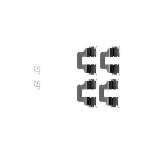 FITS OPEL ZAFIRA A 1.6 16 V Véritable Mintex Arrière Kit de montage de plaquette de frein