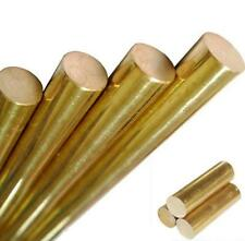 Us Stock 15mm059 Dia 250mm984 Long H62 Brass Bar Round Rod Cylinder