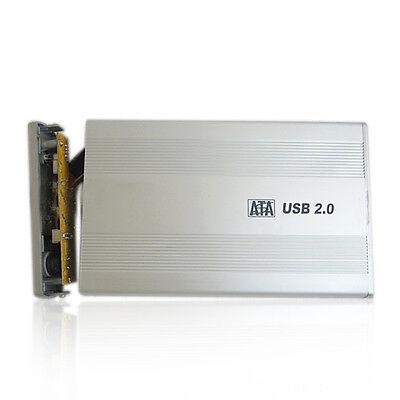 3.5 in USB 2.0 SATA External HDD HD Hard Drive Disk Enclosure Laptop Case Box #L
