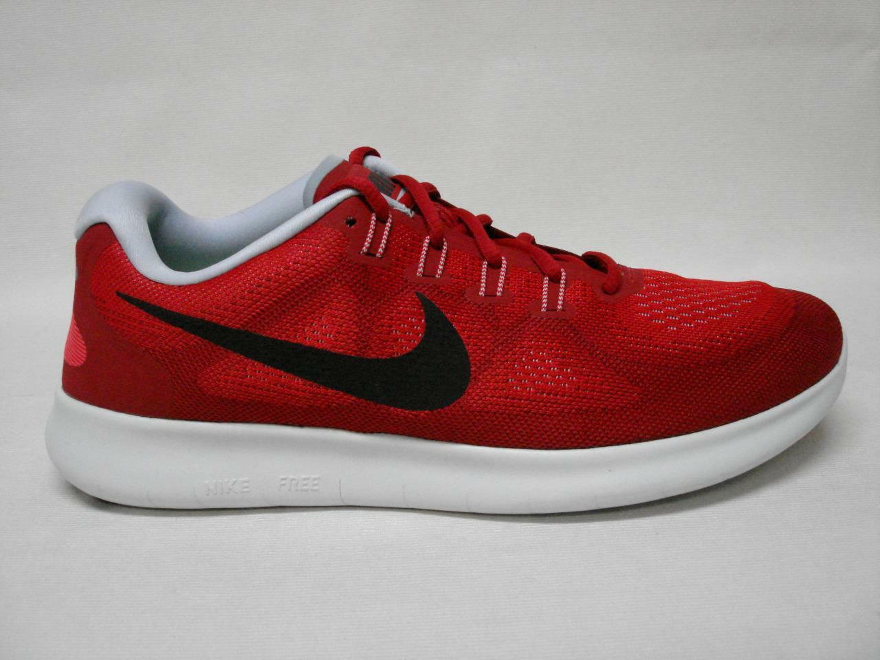 NIB NIKE FREE RN 2017 MEN'S SHOE'S 12 RED SWEET LOOKING SHOE'S