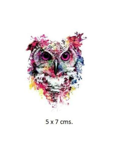 A159..SMALL OWL IRON-ON HEAT TRANSFER//APPLIQUE