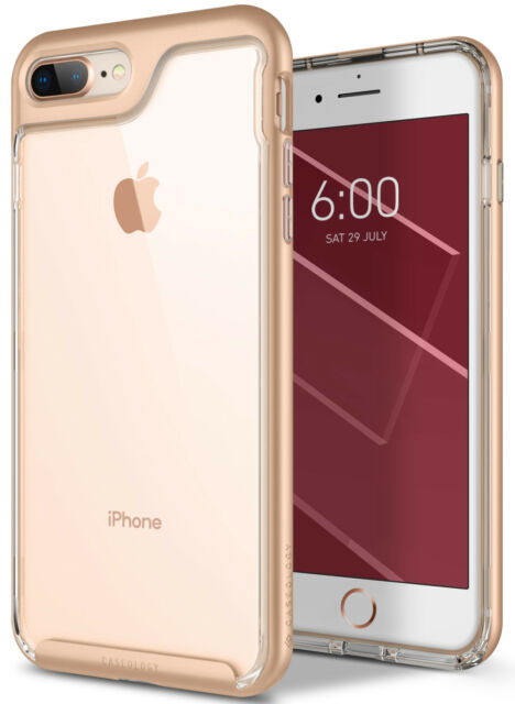 e74be5d6cab Caseology Skyfall Case for Apple iPhone 7 Plus (8 Plus) Stylish Clear Gold  for sale online
