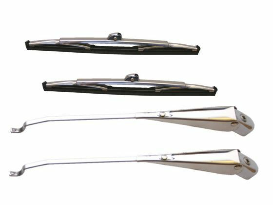 Jenson 541 19551960 A Pair Of Wiper Blades And Arms