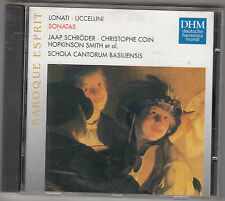 SCHOLA CANTORUM BASILIENSIS - lonati uccellini sonatas CD
