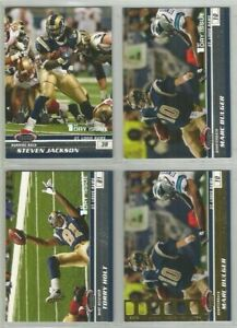 St-Louis-Rams-4-card-2008-Stadium-Club-parallel-lot-all-different