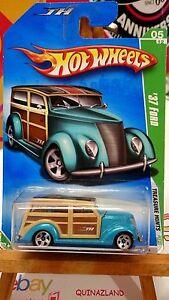 Hot-Wheels-Treasure-Hunt-039-37-Ford-2009-047-9968