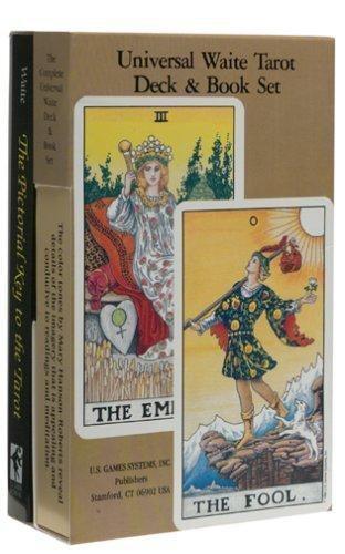 Universal Waite Tarot Deck-Book Set By Arthur Edward Waite