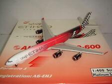 """Phoenix 400 Etihad Airways A340-600 """"2009 Abu Dhabi - Formula One"""" 1:400"""