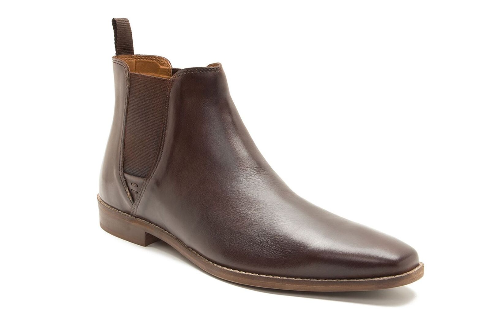 Red Tape Tapton men in pelle Pull Up Scarponcini Chelsea brown