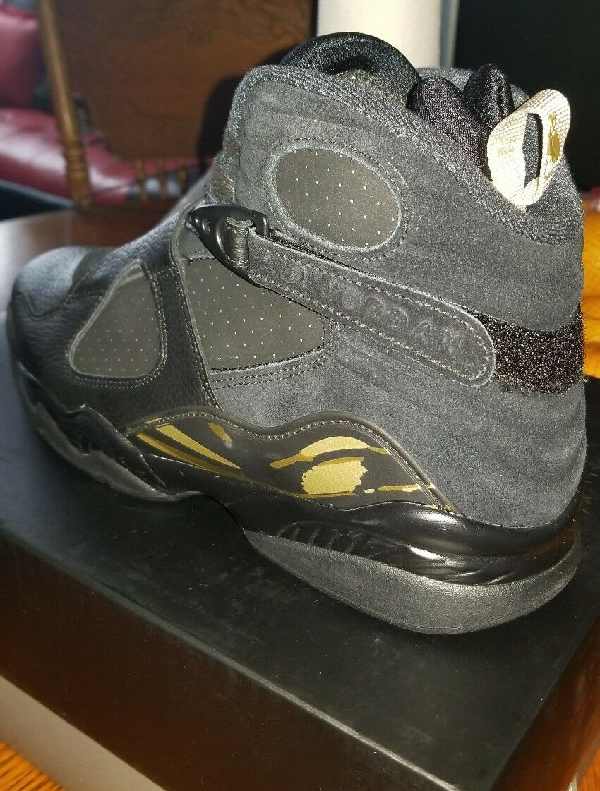 Air Jordan 8  Black OVO Size 9.5 with receipt 100% authentic