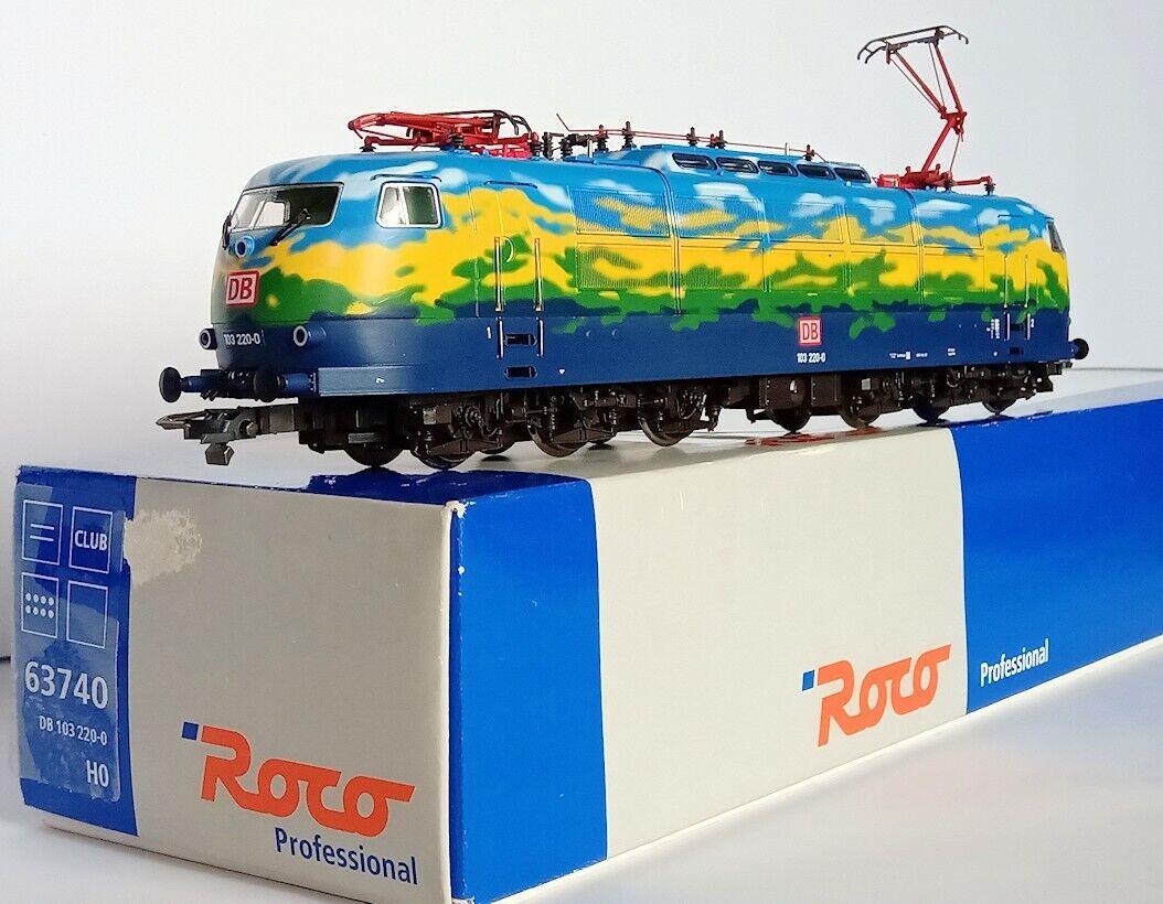 Set Roco 63740 BR 103 2200  Roco 45900 4 voitures train DB Touristik HO