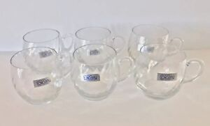 Toscany-Hand-Blown-Crystal-Glasses-Set-Of-6-Made-In-Romania