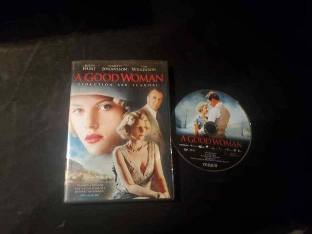 A Good Woman (DVD, 2006) VG