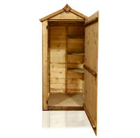 Wooden Garden Shed Outdoor Building Garage Backyard Tool Utility Storage Small